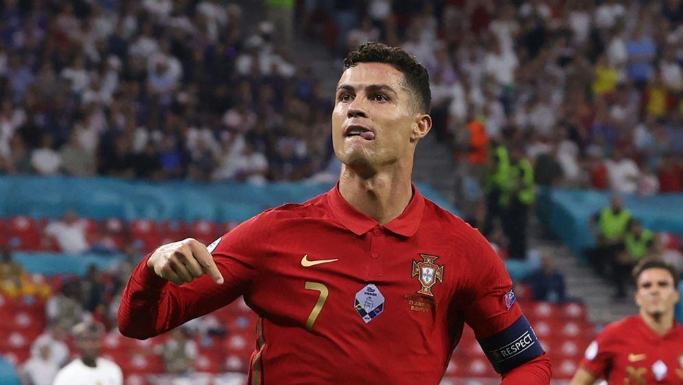 Cristiano Ronaldo baut seinen Rekord weiter aus - Bildquelle: AFPPOOLSIDBERNADETT SZABO