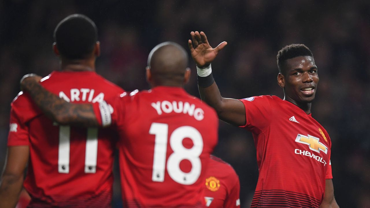 Platz 4: Manchester United - Bildquelle: 2018 Getty Images