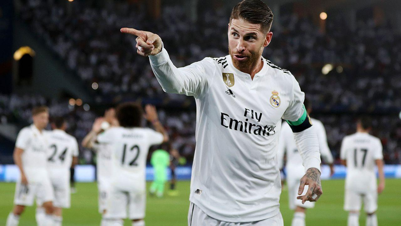 Rechter Außenverteidiger: Sergio Ramos - Bildquelle: 2018 Getty Images
