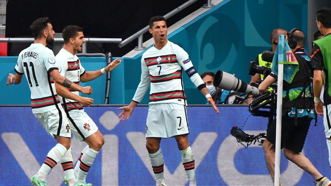 Cristiano Ronaldo schießt sich auch zum Torrekord - Bildquelle: Getty Images