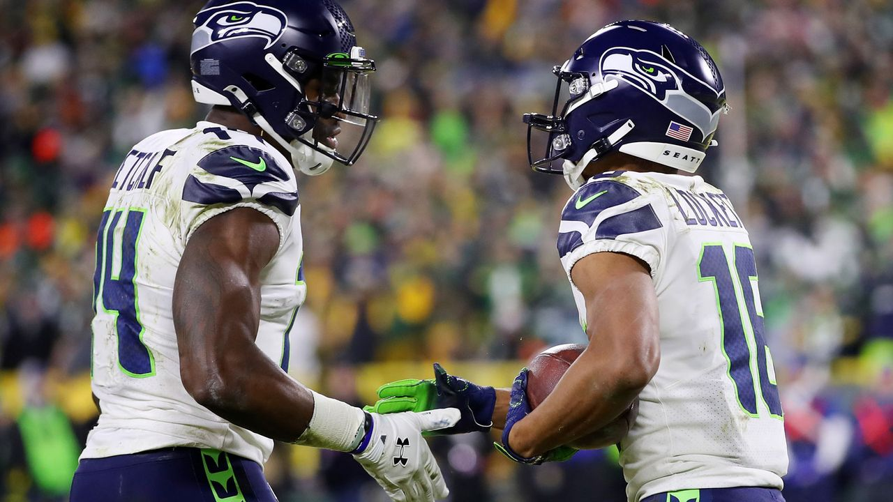 Week 17: Lockett und Metcalf knacken 1000 Receiving-Yards-Marke - Bildquelle: Getty Images