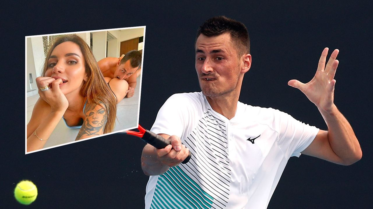 Tennis-Skandalprofi Bernard Tomic dreht Erotik-Video - Bildquelle: Getty Images /Instagram @vanessa5ierra