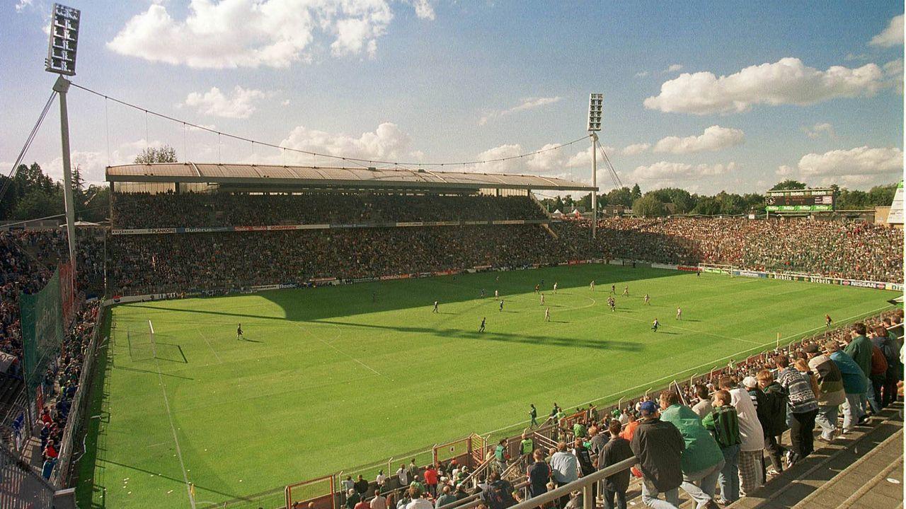Bökelbergstadion (Borussia Mönchengladbach) - Bildquelle: imago images/Kolvenbach