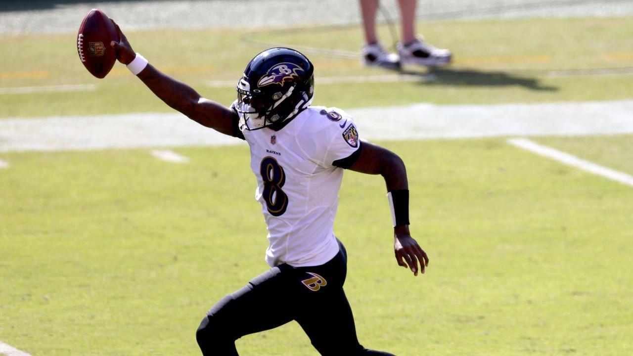 27. Pick: Baltimore Ravens - Bildquelle: getty
