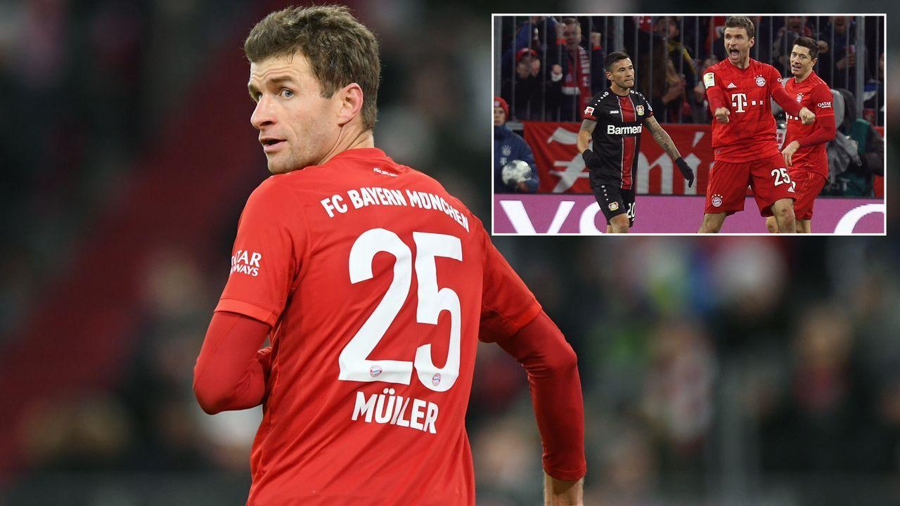 Irre Serie von Thomas Müller gerissen! Er trifft, aber die Bayern verlieren trotzdem - Bildquelle: Getty Images/Imago