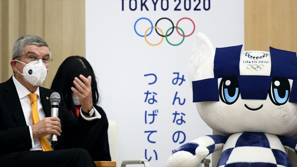 Trotz Corona:Japan will die Olympischen Spiele austragen - Bildquelle: AFPSIDCHARLY TRIBALLEAU