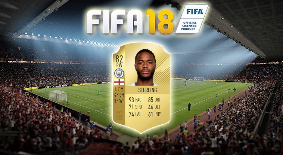 Platz 17: Raheem Sterling (Manchester City) - Bildquelle: EA Sports