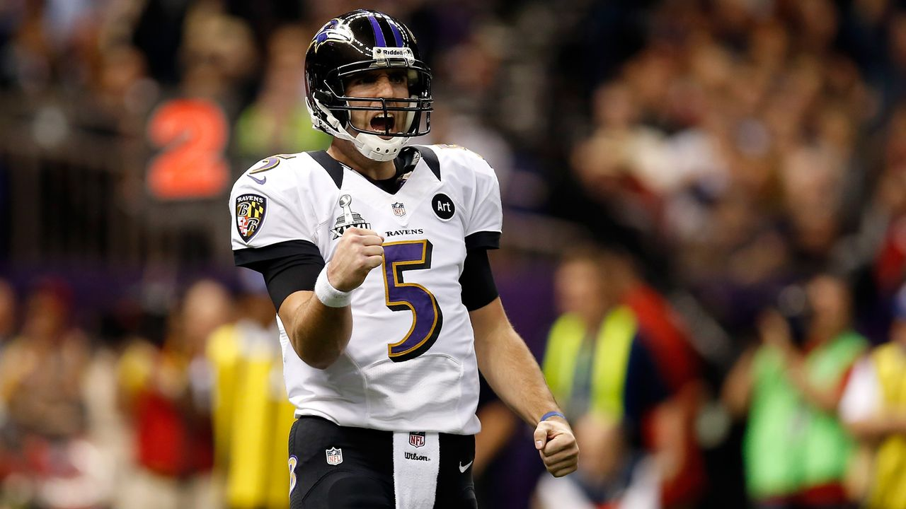 Die Playoff-Karriere von Joe Flacco