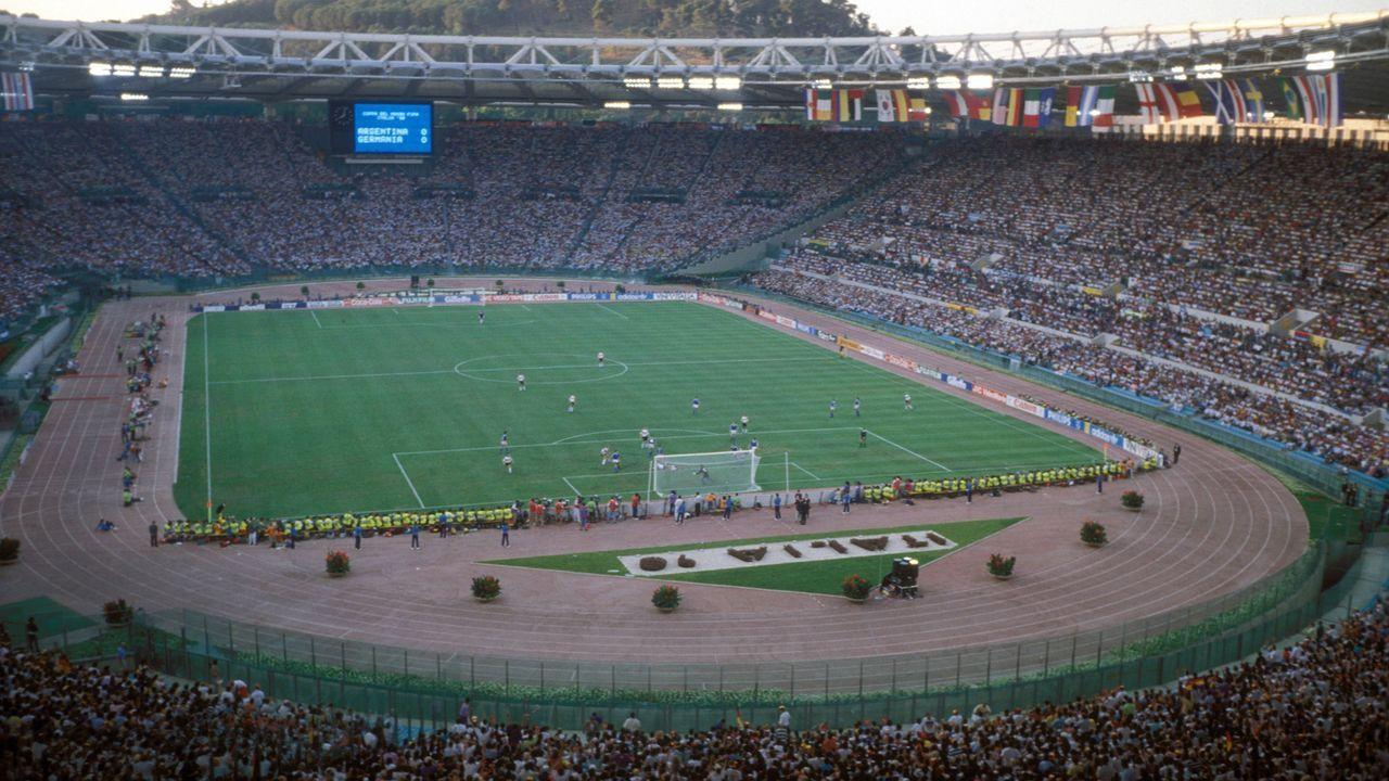 WM-Finale 1990: Argentinien - Deutschland - Bildquelle: imago/Stellan Danielsson