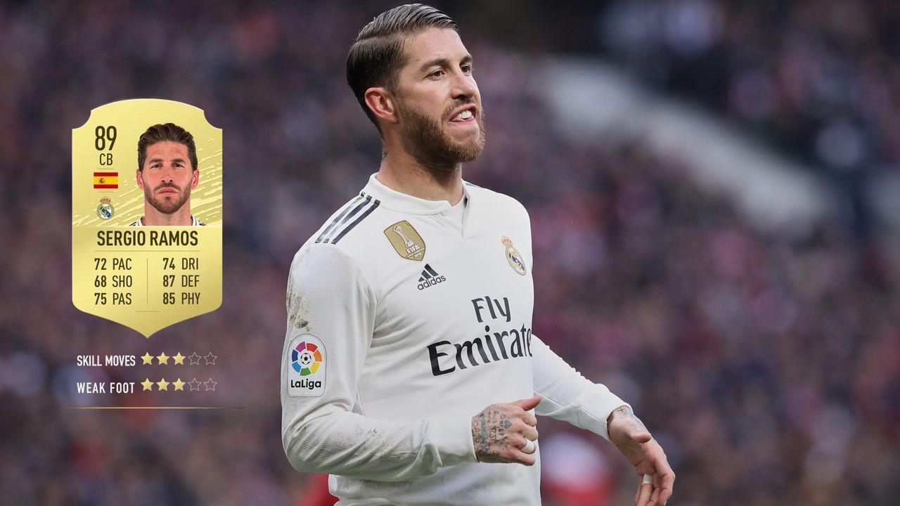 11. Sergio Ramos (Real Madrid)  - Bildquelle: 2019 Getty Images