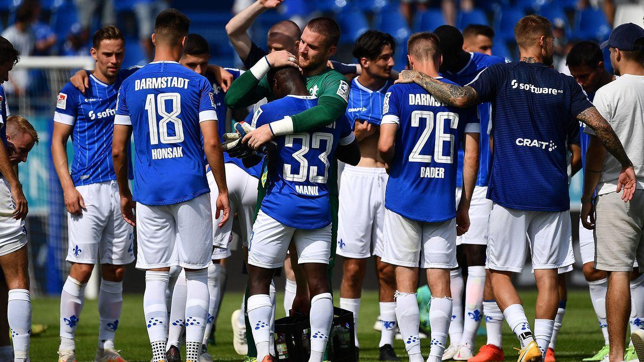 Platz 10: SV Darmstadt 98 - Bildquelle: imago images/Jan Huebner