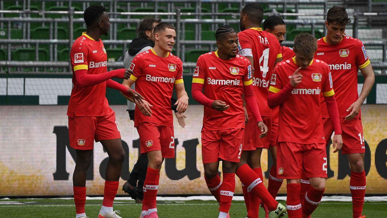 Platz 5: Bayer Leverkusen (15,14 Millionen Euro) - Bildquelle: imago images/Ulrich Hufnagel
