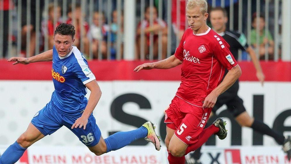 Clemens Schoppenhauer (r.) wechselt zum Chemnitzer FC - Bildquelle: FIROFIROSID