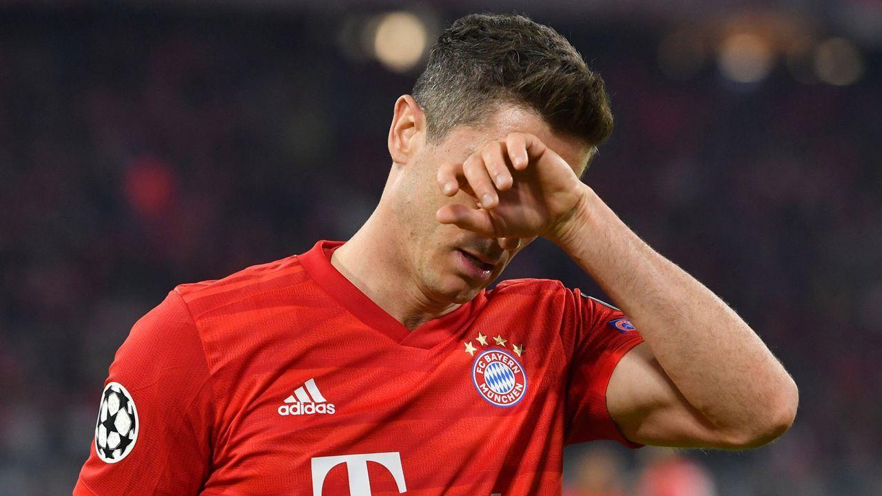 Lewandowski wird schmerzlich vermisst - Bildquelle: imago images/Sven Simon