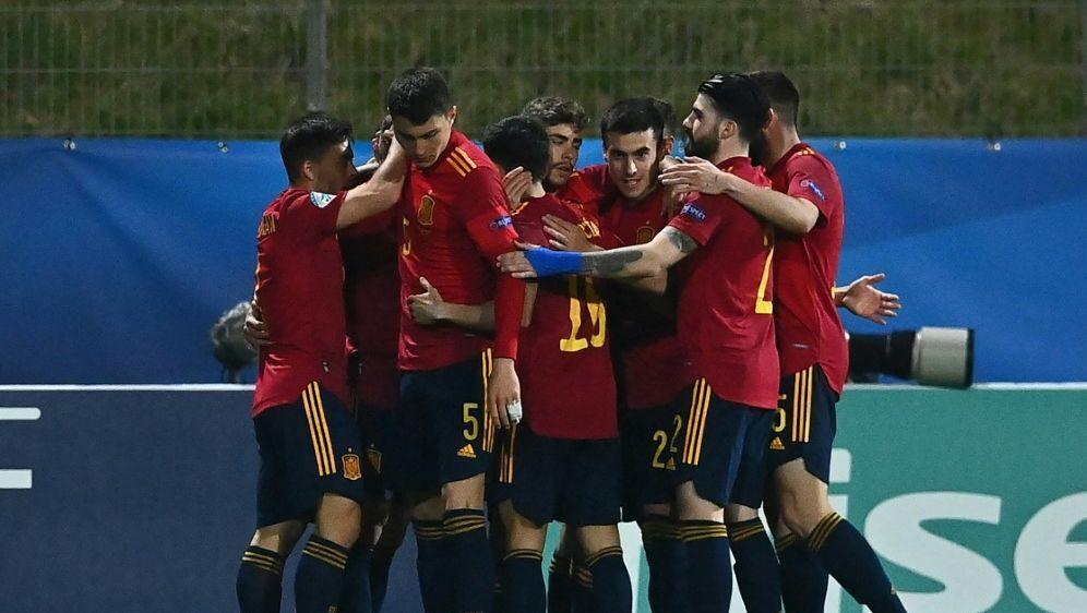 Spaniens U21 gewinnt mit 4:0 gegen Litauen - Bildquelle: AFPSIDJOE KLAMAR