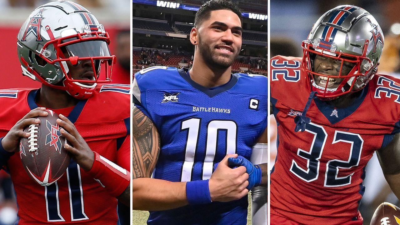 Diese XFL-Spieler unterschrieben in der NFL - Bildquelle: Getty Images, imago