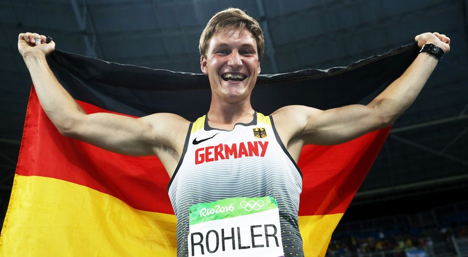 Thomas Röhler (Gold/Speerwurf) - Bildquelle: 2016 Getty Images
