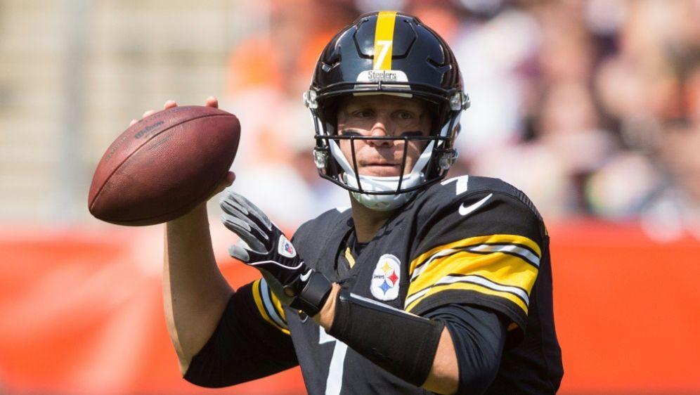 Bleibt den Pittsburgh Steelers treu: Ben Roethlisberger - Bildquelle: PIXATHLONPIXATHLONSIDScott Galvin
