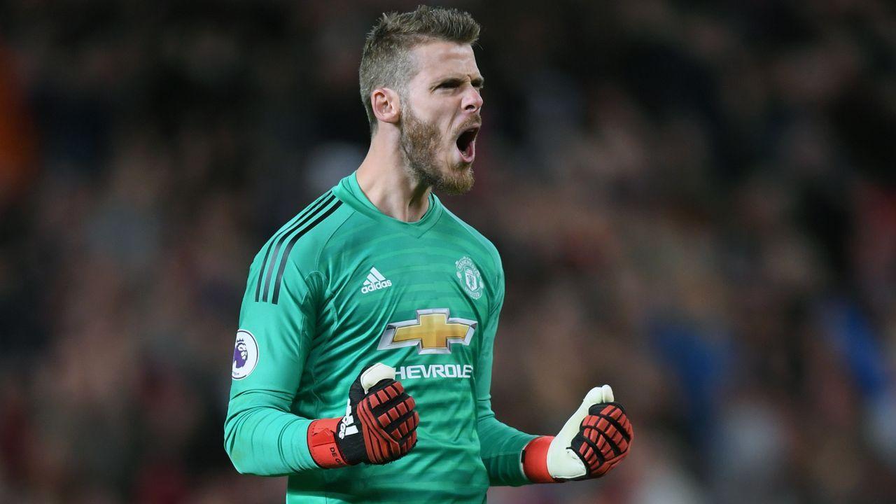 Platz 10 - David de Gea (Manchester United) - Bildquelle: 2018 Getty Images