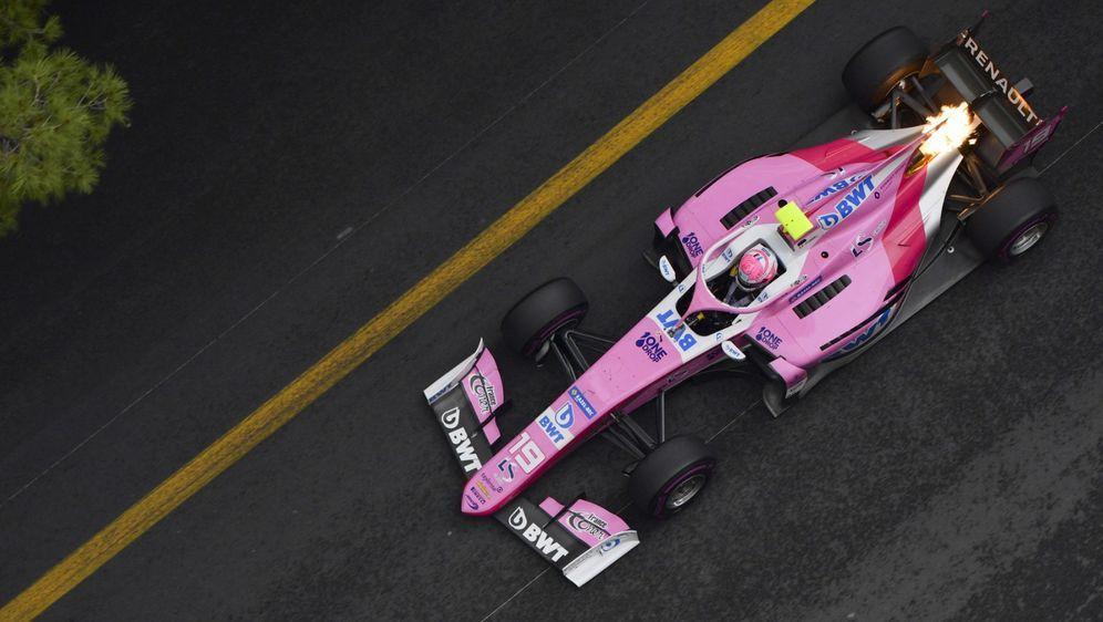 Anthoine Hubert feiert im Sprintrennen von Monaco seinen ersten Sieg in der ...
