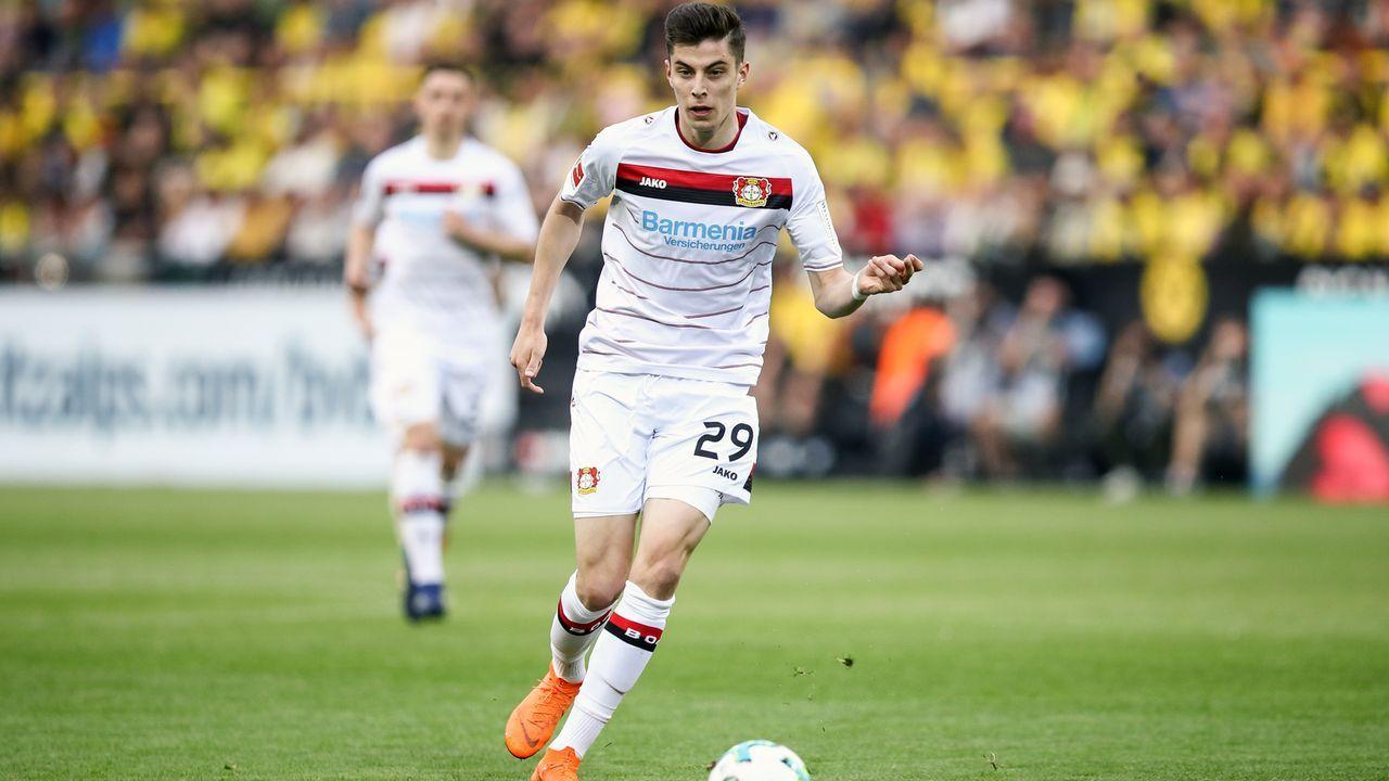 Kai Havertz (Bayer Leverkusen) - Bildquelle: 2018 Getty Images
