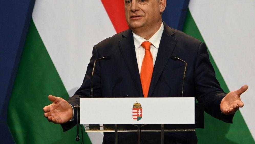 Viktor Orban zeigt Verständnis für die Pfiffe - Bildquelle: AFPSIDATTILA KISBENEDEK