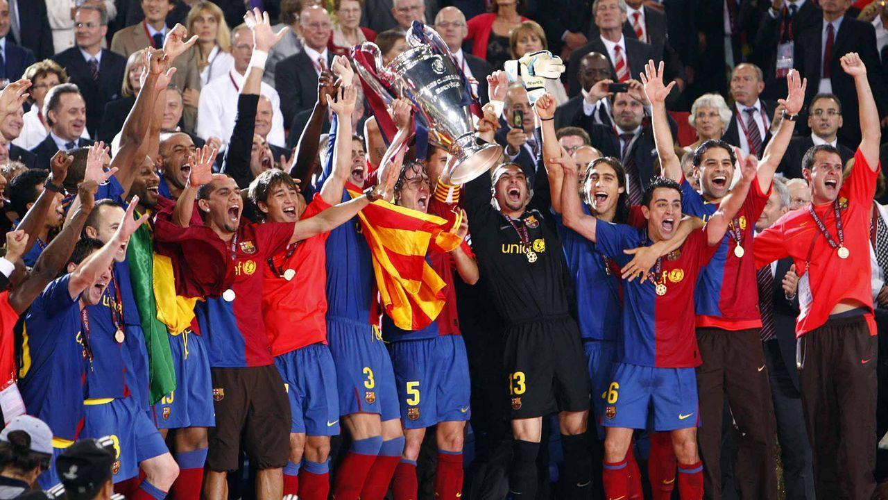 FC Barcelona (2008/09) - Bildquelle: Imago Images