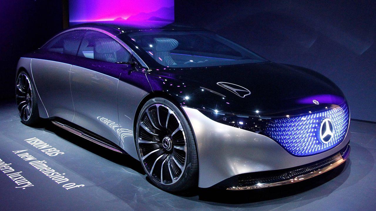 Mercedes EQS - Bildquelle: imago images/UPI Photo