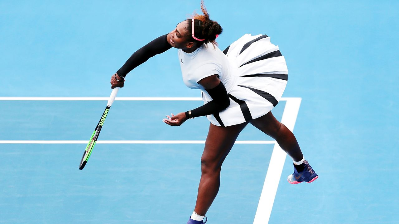 Serena Williams - Auckland 2017 - Bildquelle: 2017 Getty Images