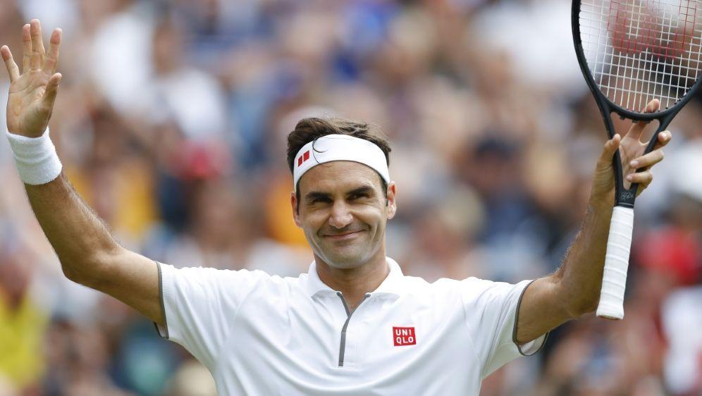 Federer besiegte Nishikori in vier Sätzen - Bildquelle: PIXATHLONPIXATHLONSID