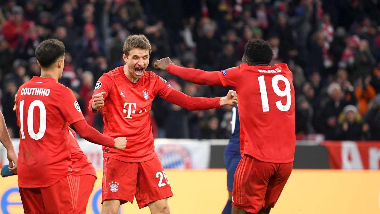 Platz 1: FC Bayern München - Bildquelle: 2019 Getty Images