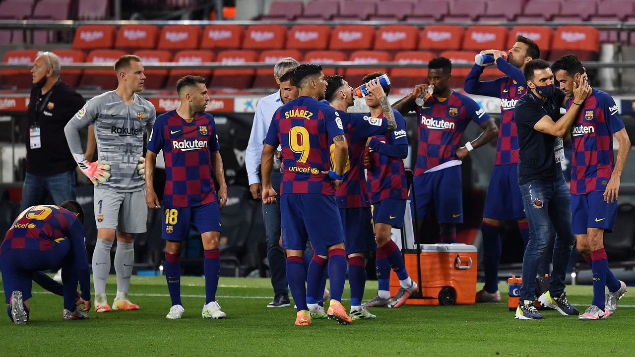 Platz 8 - FC Barcelona (Fußball) - Bildquelle: 2020 Getty Images