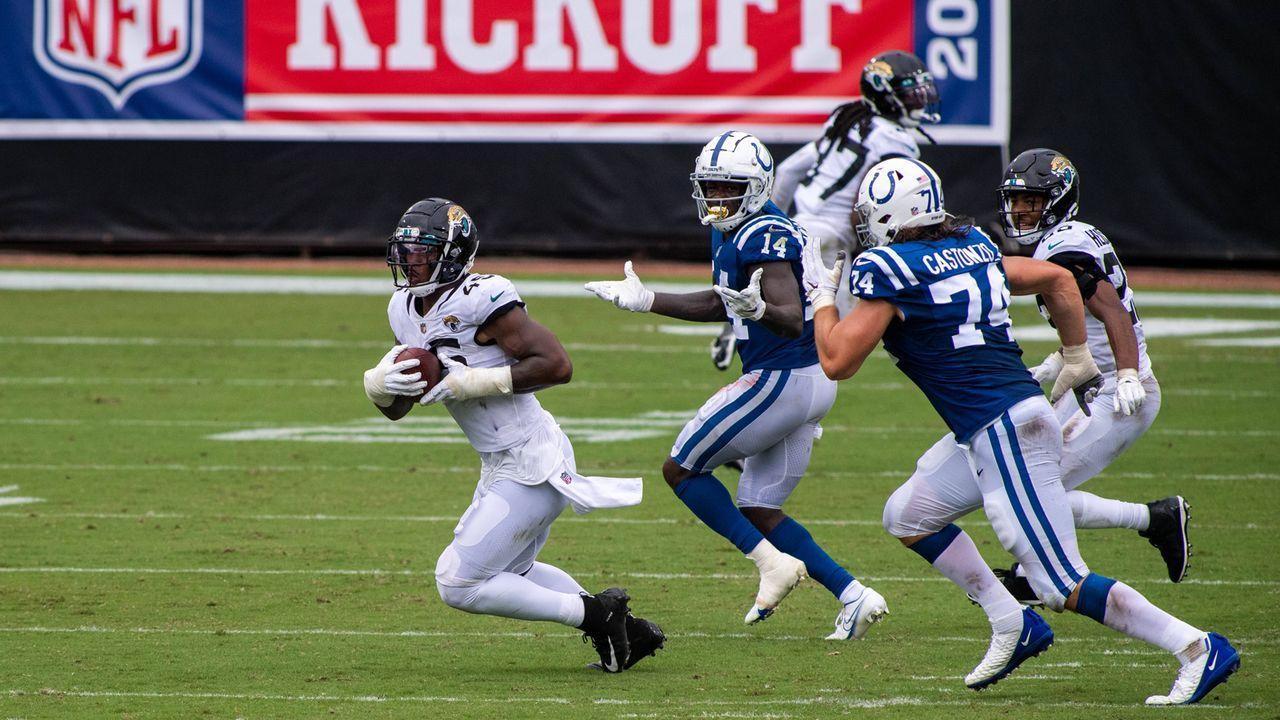 K'Lavon Chaisson (Defensive End, Jacksonville Jaguars) - Bildquelle: imago images/ZUMA Wire