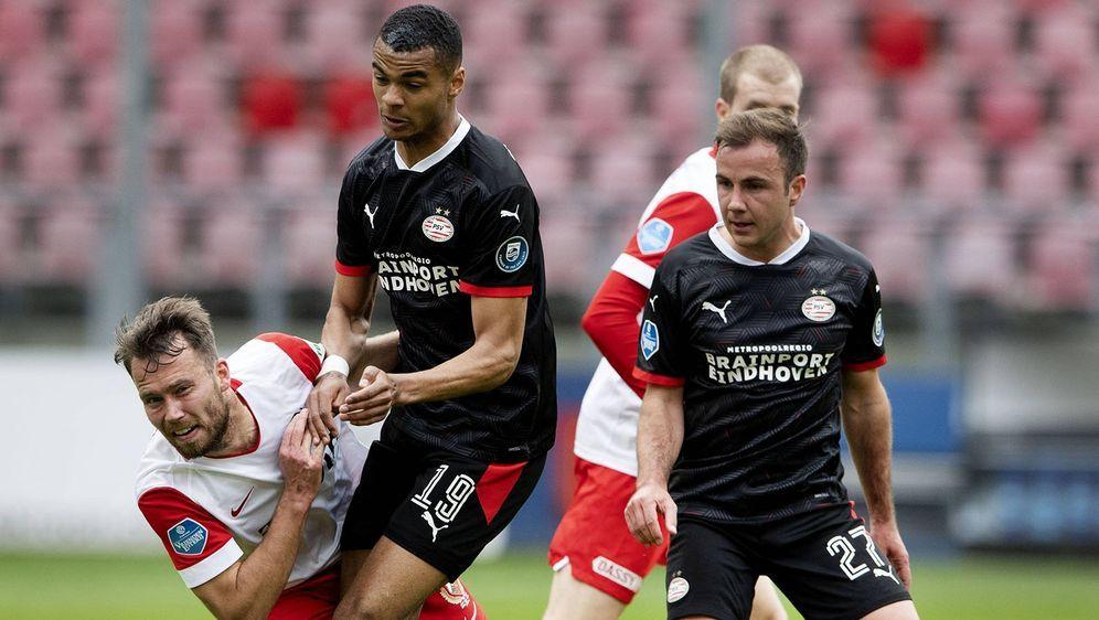 Cody Gakpo (2.v.l.) soll auf der Wunschliste des FC Bayern stehen. - Bildquelle: imago images/ANP