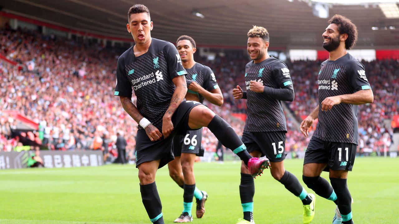 Platz 8: FC Liverpool - Bildquelle: 2019 Getty Images