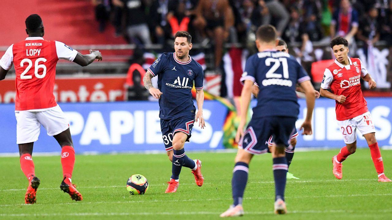 Erster Auftritt in der Ligue 1: Lionel Messi debütiert für Paris St.-Germain - Bildquelle: imago images