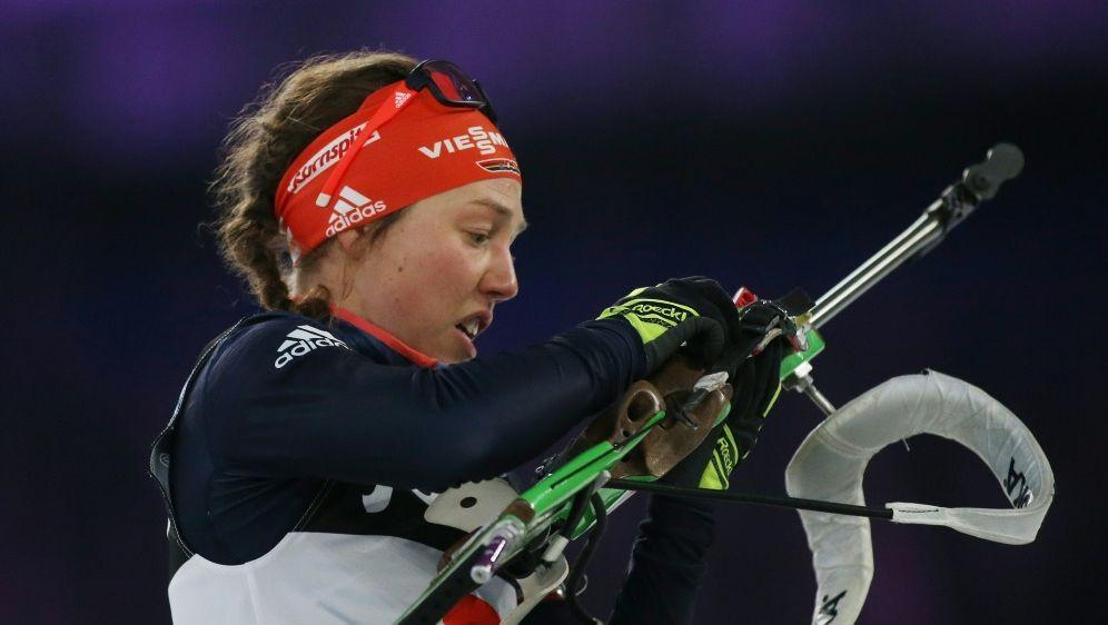 Comeback kommt für Laura Dahlmeier nicht in Frage - Bildquelle: FIRO SportphotoFIRO SportphotoSID