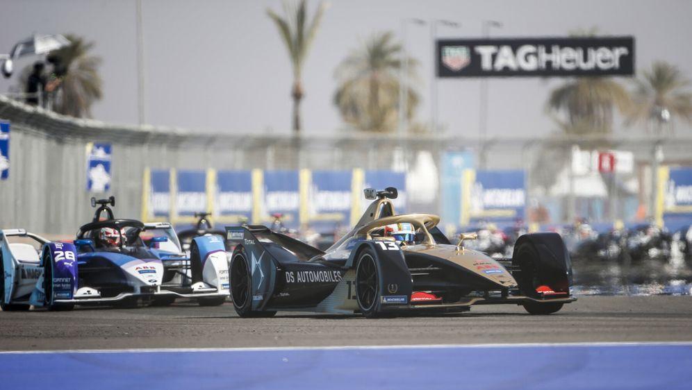 Antonio Felix da Costa, DS Techeetah, und Maximilian Günther, BMW Andretti - Bildquelle: Motorsport Images