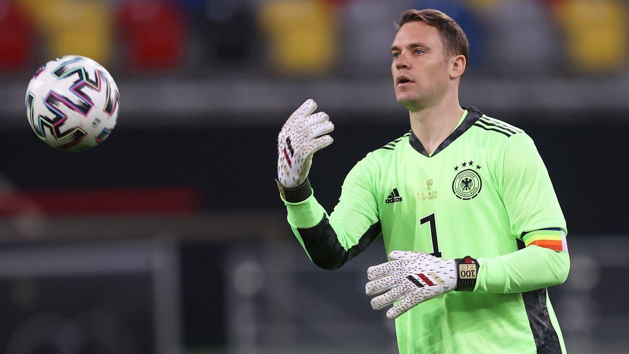 Manuel Neuer - Bildquelle: 2021 Getty Images
