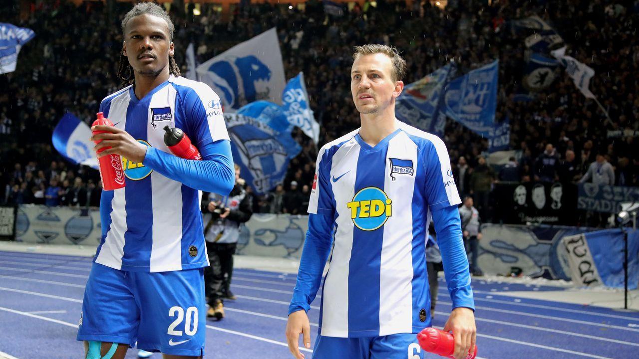 Hertha BSC (drei Spieler) - Bildquelle: imago images/Contrast
