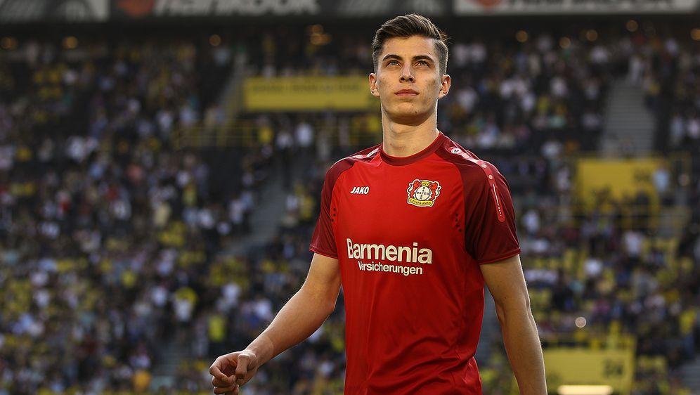 Kai Havertz spielt in der Saison 2019/20 definitiv für Bayer 04 Leverkusen. - Bildquelle: 2018 Getty Images
