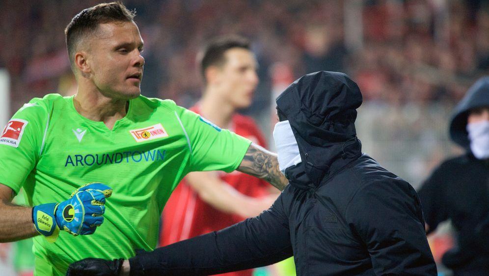 Union feiert den Prestigeerfolg gegen Hertha BSC Berlin - Bildquelle: Imago