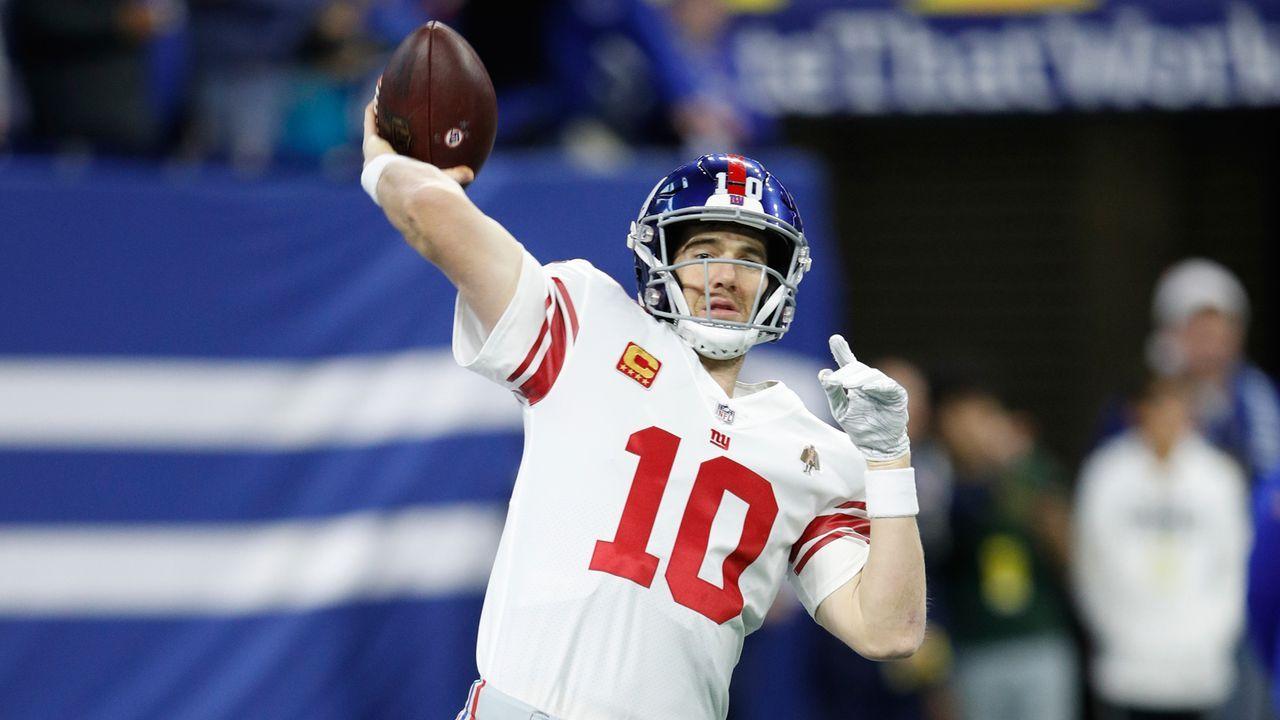 New York Giants: Eli Manning - Bildquelle: 2018 Getty Images