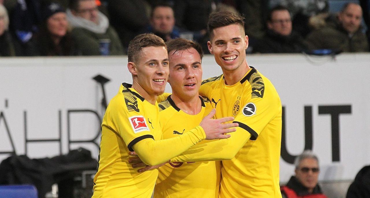 2. Platz: Borussia Dortmund  - Bildquelle: imago