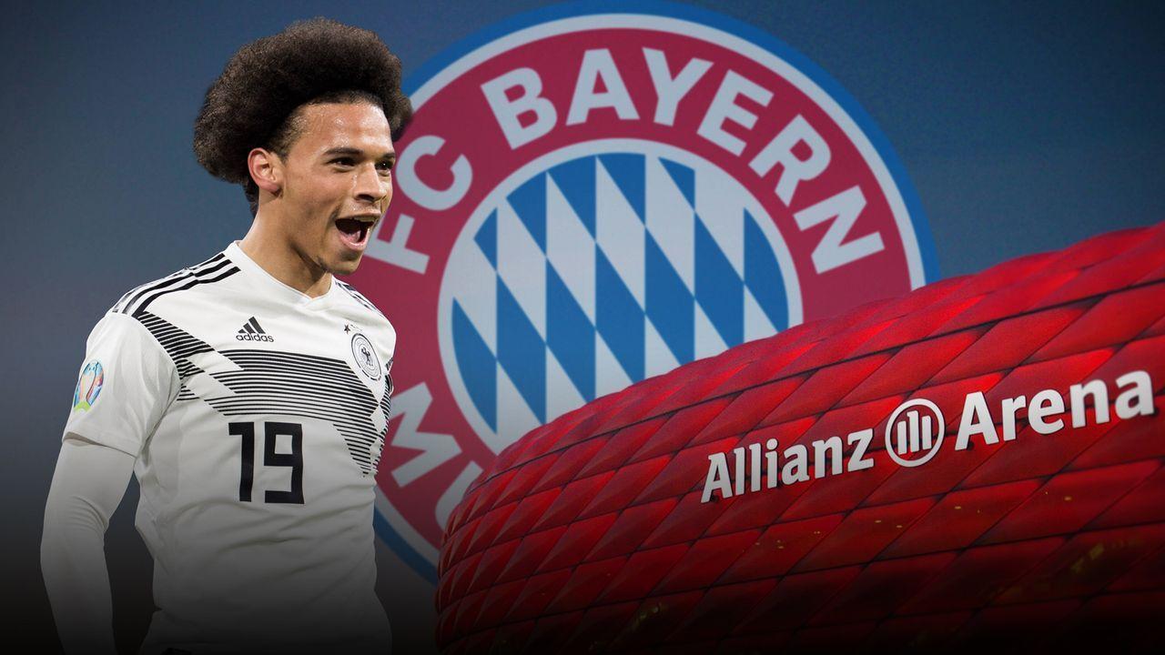 Leroy Sane (FC Bayern München) - Bildquelle: Getty