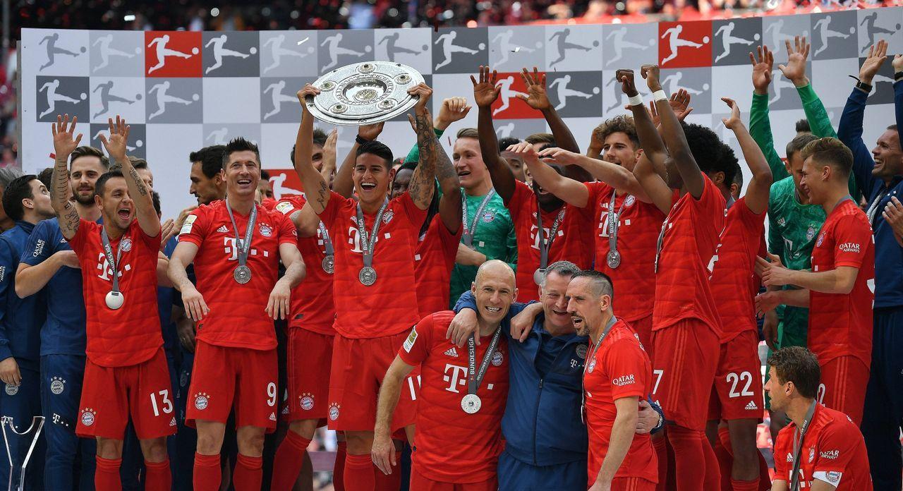 1. Platz: FC Bayern München - Bildquelle: getty
