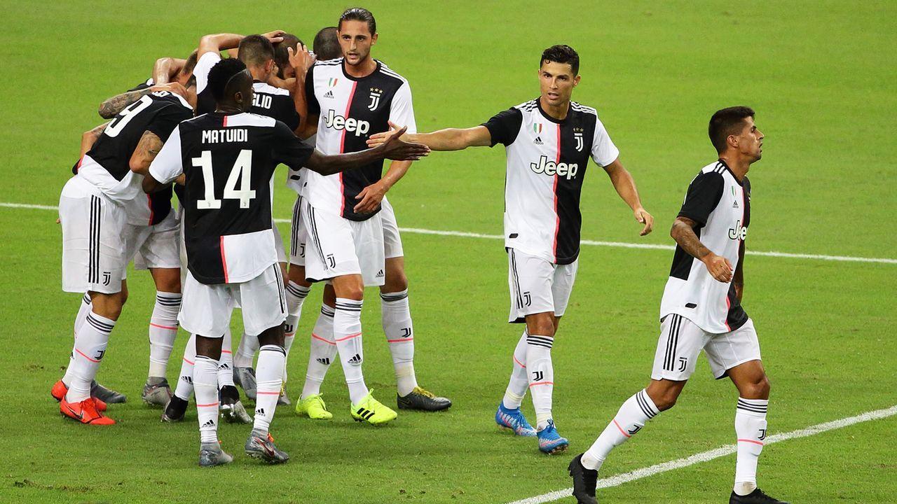 Platz 5: Juventus Turin - Bildquelle: 2019 Getty Images