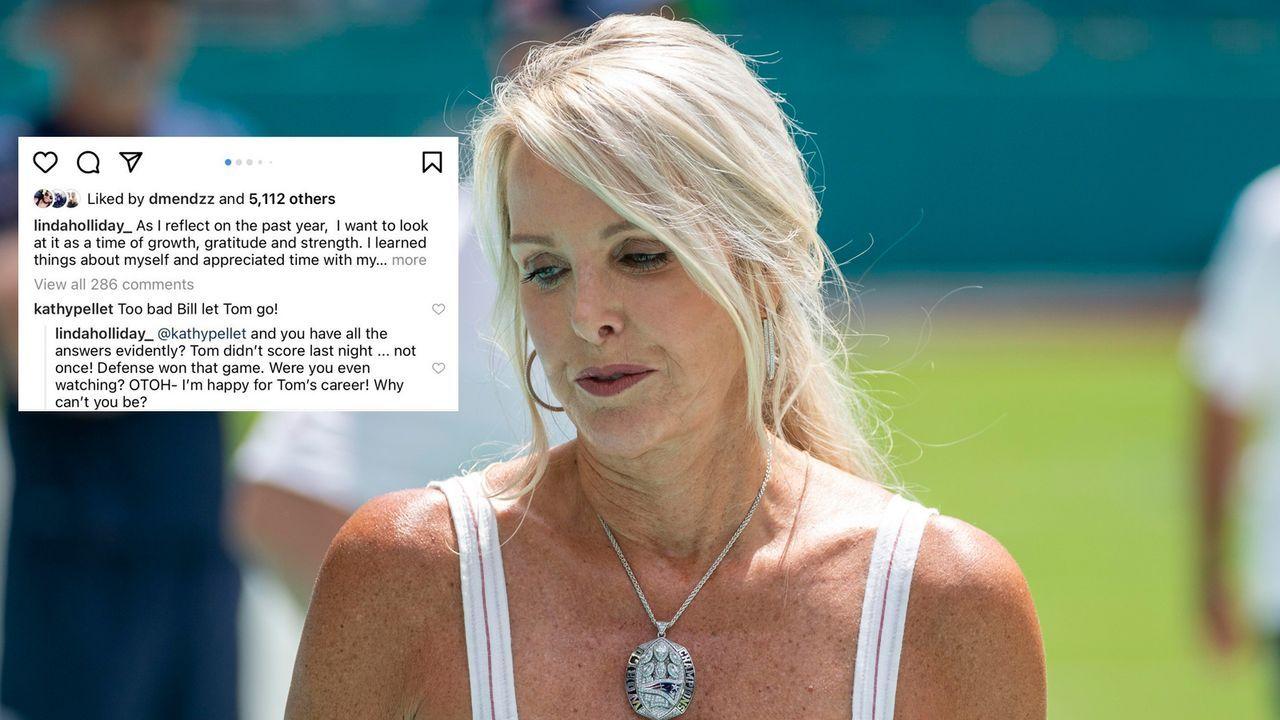 Freundin von Bill Belichick irritiert mit Aussage zu Tom Brady - Bildquelle: imago/Instagram