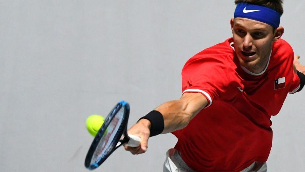 Nicolas Jarry ist nach positiver Dopingprobe gesperrt - Bildquelle: AFPSIDGABRIEL BOUYS