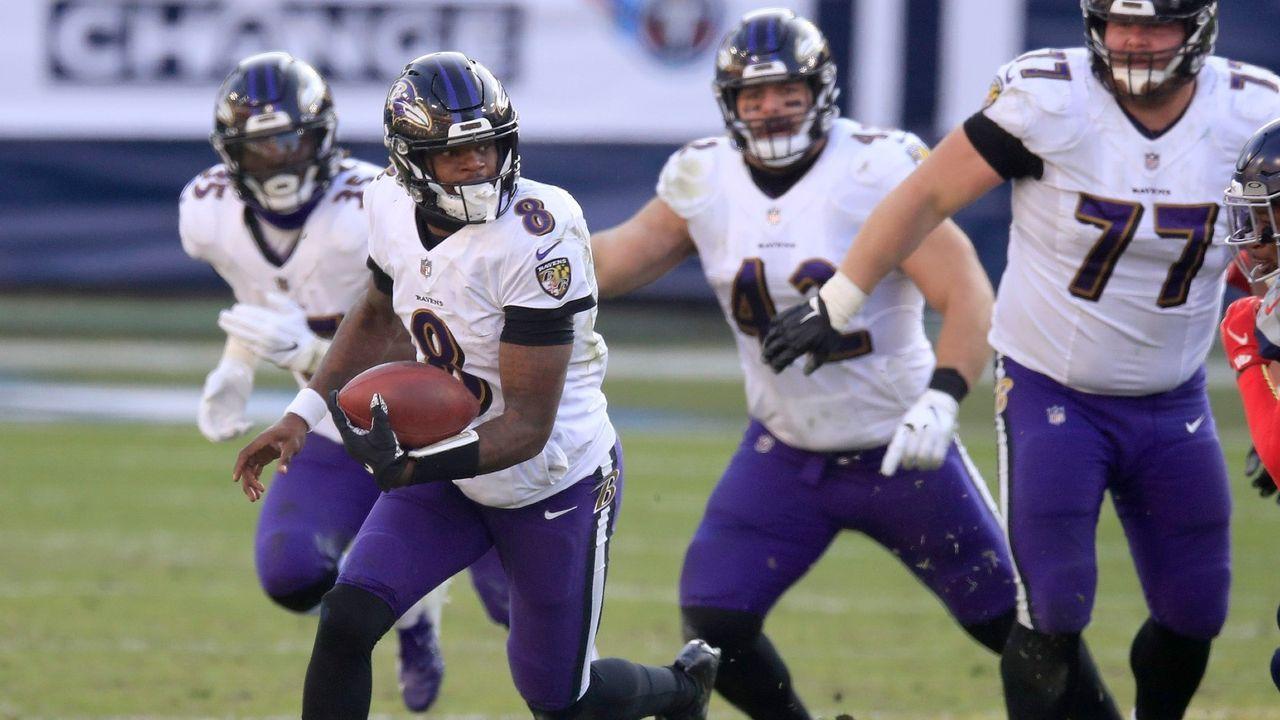 Platz 6: Baltimore Ravens - Bildquelle: Getty